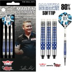 Soft Dartpfeil Set Bulls - Martin Schindler 80% PCT Blue