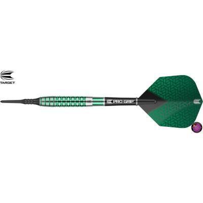 Soft Dartpfeil Set Target - Agora Verde AV30