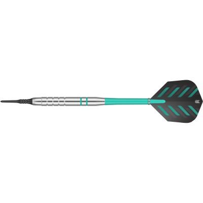 Soft Dartpfeil Set Target - Rob Cross Silver Voltage