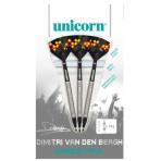 Soft Dartpfeil Unicorn - Dimitri van den Bergh Maestro Natural