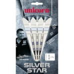 Soft Dartpfeil Set Unicorn - Silver Star Gary Anderson