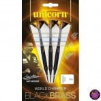 Soft Dartpfeil Set Unicorn - Black Brass Gary Anderson