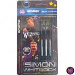 "Soft Dartpfeil Set - Winmau Simon Whitlock ""The Wizard"" Silver"