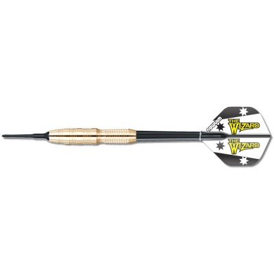 "Soft Dartpfeil Set Winmau - Simon Whitlock Brass ""The Wizard"" Messing"