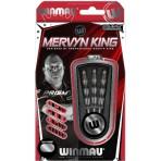 "Soft Dartpfeil Set - Winmau Mervyn ""The King"" King Onyx"