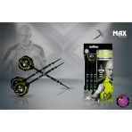 Soft Dartpfeil Set - XQMax Michael van Gerwen Premier League Limited Edition 90% Black Tungsten