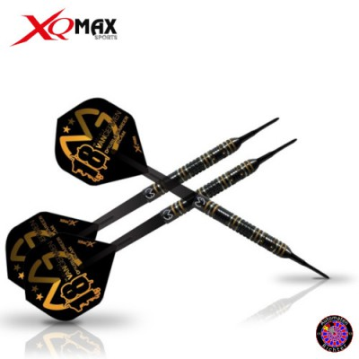 Steel Dartpfeil Set - XQMax Michael van Gerwen Double Career Slam Edition 90% Tungsten