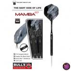 Stahl Darts Dartpfeil Set - Bulls Mamba `97 B Grip
