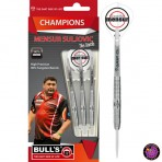 Steel Dartpfeil Set - Bulls Team Champions Darts Mensur Suljovic