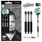 Steel Dartpfeil Set Bulls - Max Hopp Max95