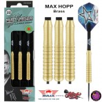 Steel Dartpfeil Set Bulls - Max Hopp Brass
