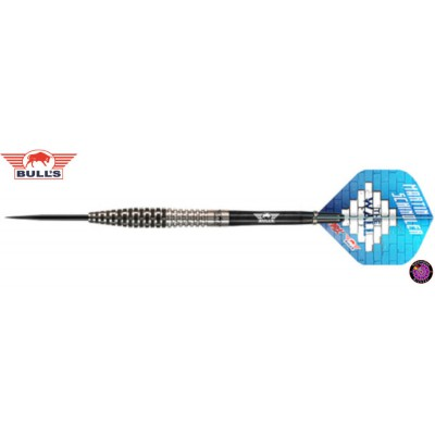 Steel Dartpfeil Set Bulls - Martin Schindler 90% Match Dart