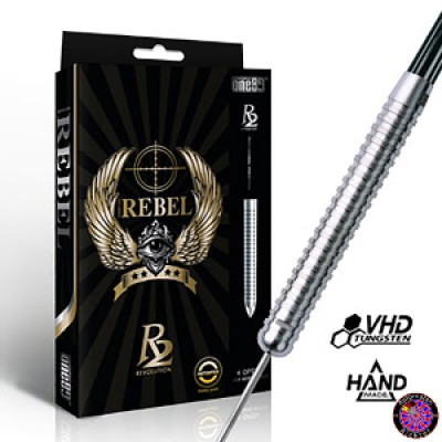 Steel Darts Dartpfeil Set One80 Revolution 2 - Rebel