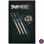 Steel Darts Dartpfeil Set One80 Revolution 2 - Regulator