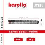 Steel Dartpfeil Karella - ShotGun
