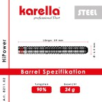 Steel Dartpfeil Karella - HiPower