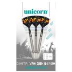 Steel Dartpfeil Unicorn - Maestro Natural Dimitri van den Bergh