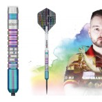 Steel Dartpfeil Unicorn - Dimitri van den Bergh Code Players