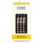 Steel Dartpfeil Set Unicorn - Core Plus Brass