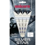 Steel Dartpfeil Set Unicorn - Silver Star Gary Anderson