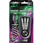 Steel Dartpfeil Set Winmau - Simon Whitlock Silber