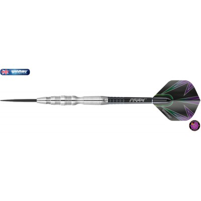 "Steel Dartpfeil Set - Winmau Simon Whitlock ""The Wizard"" Silver"