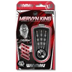 Steel Dartpfeil Set Winmau - Mervyn King Onyx Coating