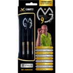 "Steel Dartpfeil Set XQ Max - Michael van Gerwen ""9 Majors/Career Slam Edition"""