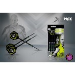 Steel Dartpfeil Set - XQMax Michael van Gerwen Premier League Limited Edition 90% Black Tungsten