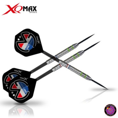 "Steel Dartpfeil Set - XQMAX Michael van Gerwen ""Mighty Generation III"""
