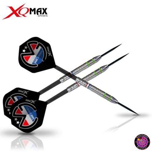 XQ-MAX Steel Dart Pfeile Darts Michael van Gerwen MvG Mighty Generation 21 gr