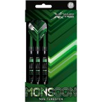 Steel Dartpfeil Set XQ Max - Monsoon