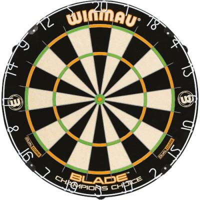 Dartboard Bristle Winmau Blade Champions Choice - Dual Core Training Board