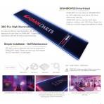 GranBoard Dartmatte LED