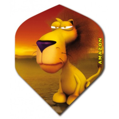Amazon Flight Cartoon Standard - Lion