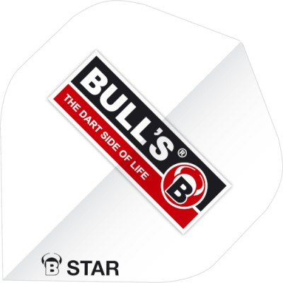 Bulls Five Star Flight Standard - Logo weiss