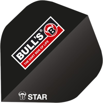 Bulls Five Star Flight Standard - Logo schwarz