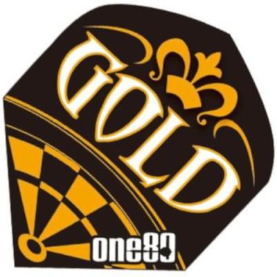 One80  Dart Flight Standard - Gold