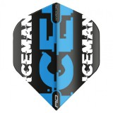 "Red Dragon Standard Hardcore Flight - Gerwyn Price ""Iceman"" Black&Blue Logo"