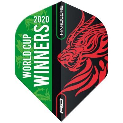 Red Dragon Standard Hardcore Flight - Gerwyn Price World Cup Winner