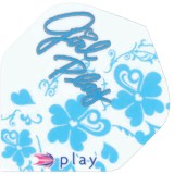 Target Pro 100 Standard Double Sided Design Girl Play - Blau