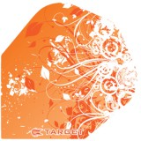 Target Pro 100 Flight Standard Oriental Flower - Orange