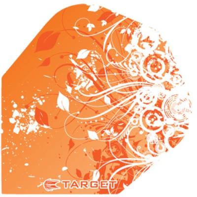 Target Pro 100 Flight Standard Oriental Flower - Orange