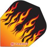 Target Vision Flight Standard Flammen - Rot/Orange