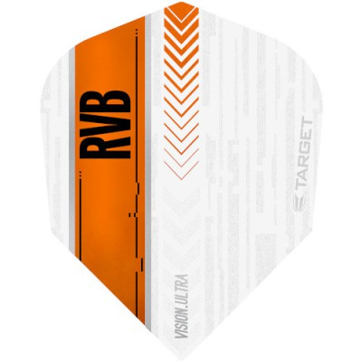 Target Vision Ultra Flight - RVB White-Orange No6