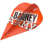 Target Pro Ultra Flight - Barney Army Orange Vapor
