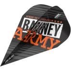 Target Pro Ultra Flight - Barney Army Black Vapor