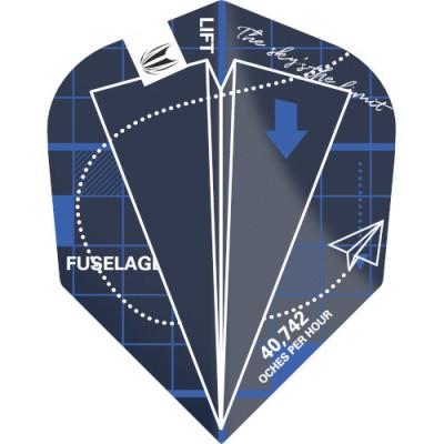Target Pro Ultra Flight - Blueprint Blau No6
