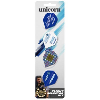 Unicorn Gary Anderson Flight Sortiment