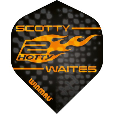 Winmau Embossed Standard Player Flight - Scott Waites